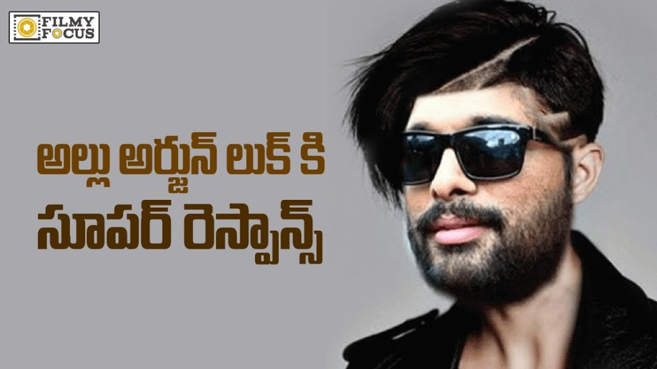 Huge Response For Allu Arjun Hair Style Of Dj Duvvada Jagannadham