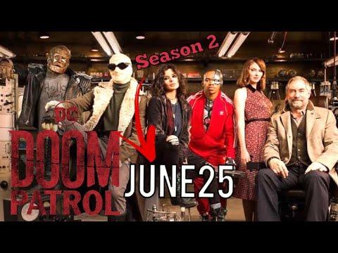 Doom Patrol Season 2 Will Start Thursaday June 25th More