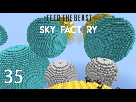 Sky Factory 3 w/ xB - BIG DIAMOND BALLS [E35] (Minecraft Modded Sky Block)
