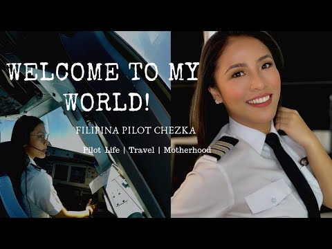 FILIPINA PILOT CHEZKA | WELCOME TO MY WORLD | CHANNEL TRAILER