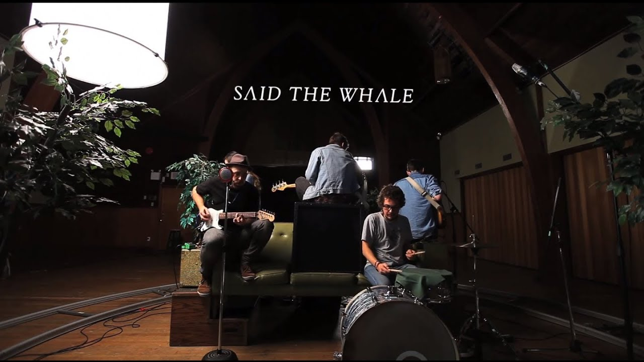 Said the Whale - I Love You - Green Couch Session - YouTube