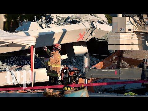Florida bridge collapse news conference