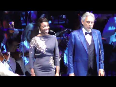 Andrea Bocelli & Heather Headley Can't Help Falling In Love 2018