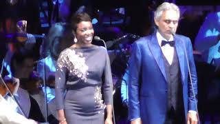 andrea bocelli heather headley cant help falling in love 2018