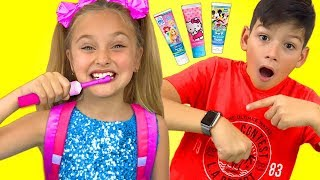 Download Sasha and Max sing Hurry Up to School Nursery Rhymes song Mp3 and Videos