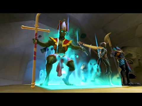 Iron Maiden: Legacy of the Beast - Osiris Rules Over the Dead