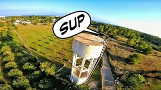 Ibiza + Water Tower + Climbing + Drone