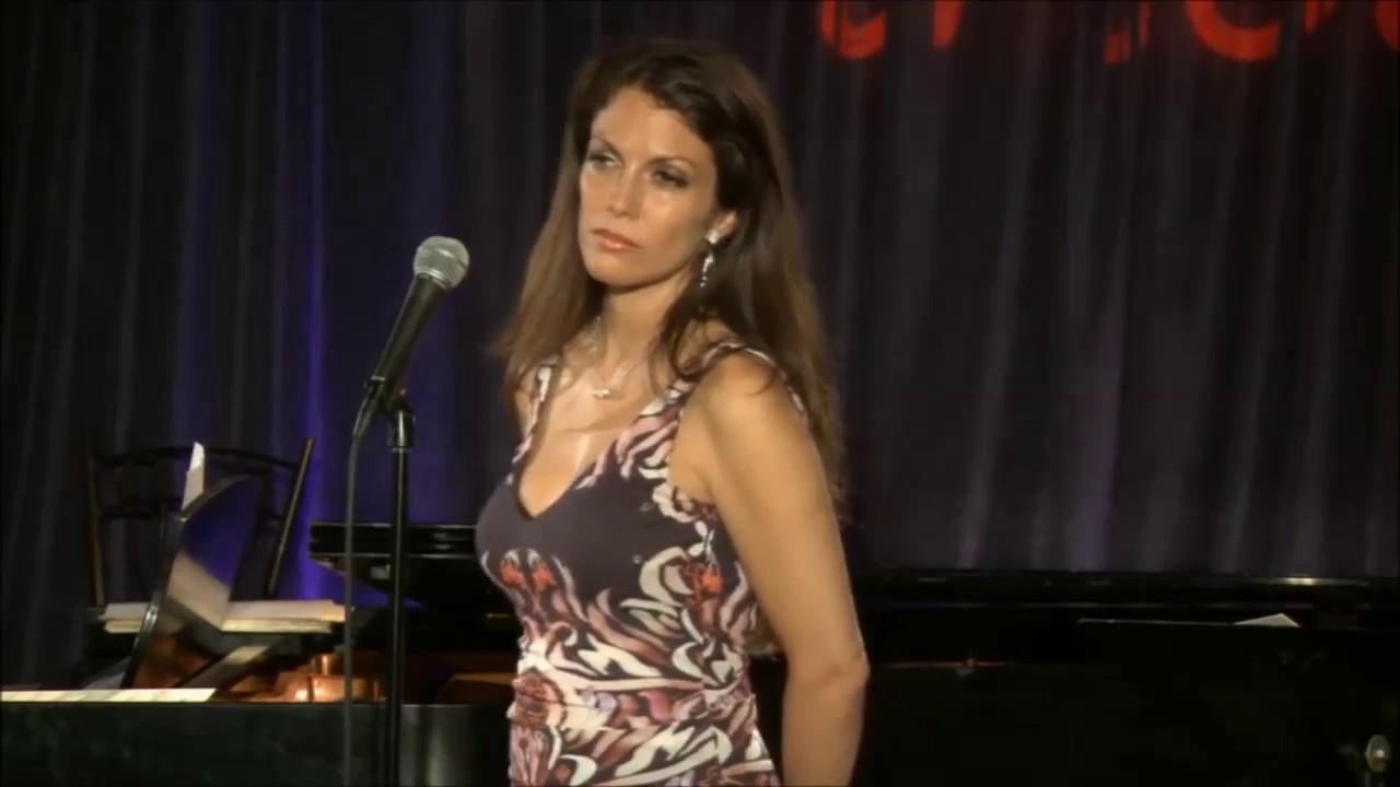 Singer Hilary Kole at Ribbon 72 LIVE 2/14 Valentine's Day