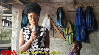Brodashaggi sings like davido
