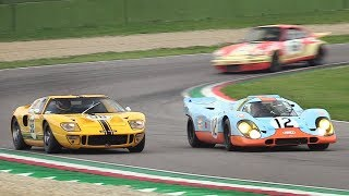 Imola Classic 2018 - Porsche 917K, Alfa T33/3, BMW 3.0 CSL, Jaguar XJR-14 & More!
