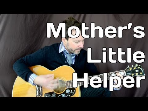 How To Play Mother's Little Helper - Rolling Stones- Guitar Lesson