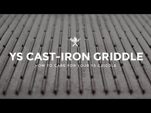 How to Care for the Yoder Smokers Cast Iron Griddle | Tips & Techniques from All Things Barbecue