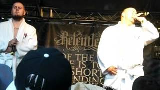 Hammer und Zirkel auf der Graffitibox Summer Jam 2011 - Bühnenintro & Mein Bad LIVE