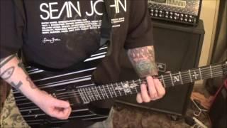 KISS Love Gun Guitar Lesson + How to play + Tutorial