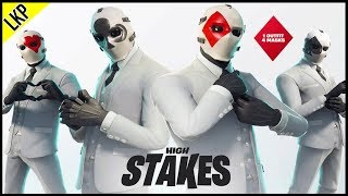 NEW FORTNITE HIGH STAKES! FREE NEW SKINS!? SEASON 6 COUNTDOWN! (283/300)