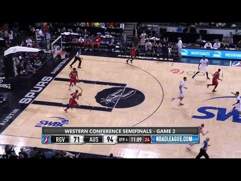 Highlights: Walter Tavares (18 points) in NBA D-League Playoffs, 4/7/2016