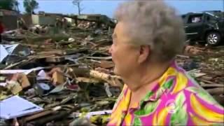 Oklahoma dog found alive under rubble