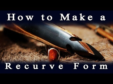 How to build a Recurve Bow Form