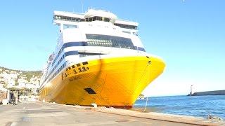 On découvre Mega Andrea, le navire rénové de Corsica Ferries