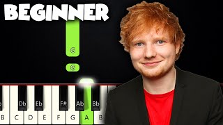 Perfect - Ed Sheeran | BEGINNER PIANO TUTORIAL + SHEET MUSIC by Betacustic видео