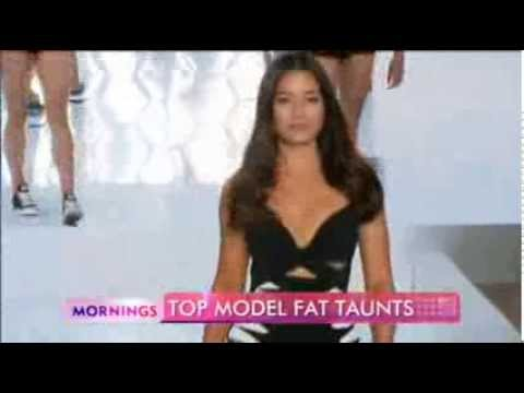 Top model Jessica Gomes weight jibes - Danni Miller on the fashion industry.