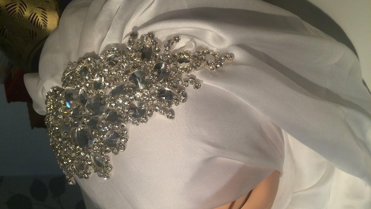 bridal hijab style / حجاب العروس سهل و انيييييق