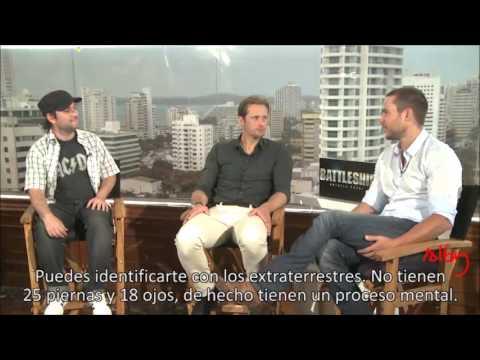 Alexander Skarsgård Interview - Battleship Premiere in Cartagena