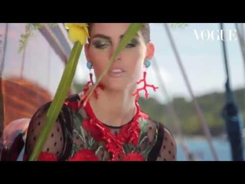 Hilary Rhoda by Mariano Vivanco for Vogue Japan May 2015