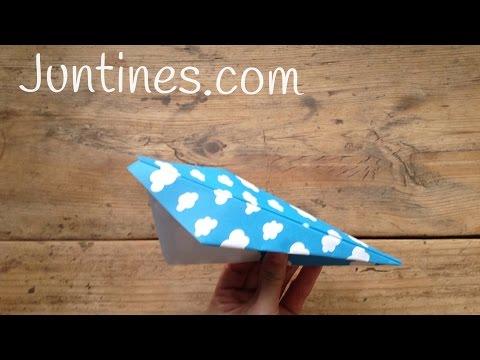 Aviones de papel y echa a volar la imaginación