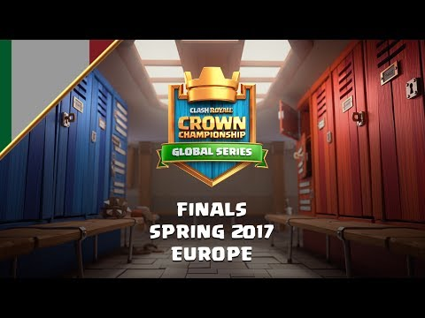 [IT] Clash Royale: Crown Championship Spring Finale (EU) - Crown Championship