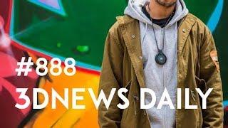 3DNews Daily 888: VR-обучение водителей UPS, мессенджер Google Allo в Chrome, камера-кулон Front Row