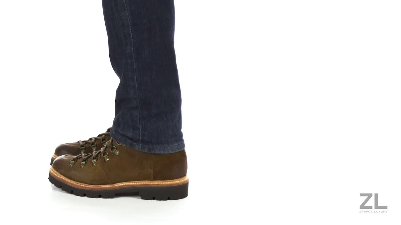 utterly stylish save up to 80% sold worldwide Grenson Brady Laced Mountaineer Boot SKU: 9145476 - YouTube