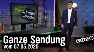 Extra 3 vom 07.05.2020 mit Christian Ehring