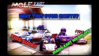 Mario Kart Wii Rip-off [Mole Kart]