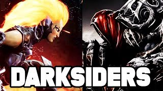 Darksiders Retrospective CONTINUES! Travelling Back In Time + More Darksiders 1 Gameplay!