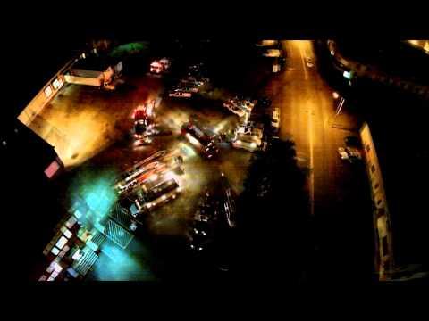 Worcester MA: Industrial Equipment Fire, HAZMAT Incident