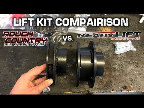 HERES WHY You Should NEVER Buy a ROUGH COUNTRY LIFT KIT!! *Lift Kit Comparison*