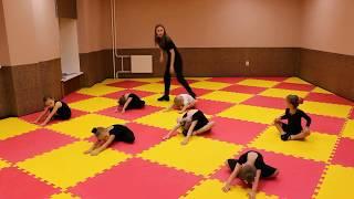 Видео-урок (I-семестр: декабрь 2017г.) - филиал Восточный, группа 3-6 лет, Детская Шоу-хореография