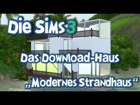 Die sims 3 inselparadies das download haus wohnhaus for Modernes haus sims