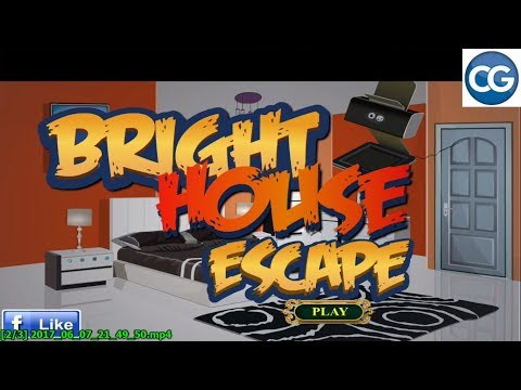 [Walkthrough] New Escape Games 40 level 11 Bright House Escape