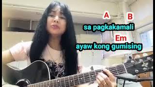 Bulong ng damdamin LYRICS AND GUITAR CHORDS