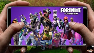 Left!!! FORTNITE MOBILE OFFICIAL ANDROID NEW SEASON AND IS AWESOME UPDATE DOWNLOAD