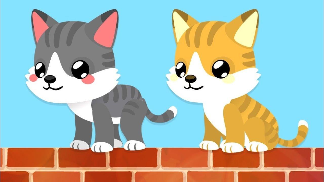 Download Kediler Hep Miyav Der   Hayvan Seslerini Öğreten Bebek Şarkısı