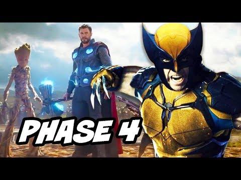 Avengers 4 Marvel Phase 4 Crossover Teaser - Disney Fox Deal Explained