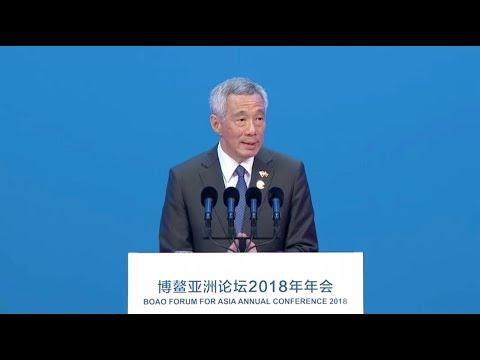 Singapore's Lee praises China's role in international economy