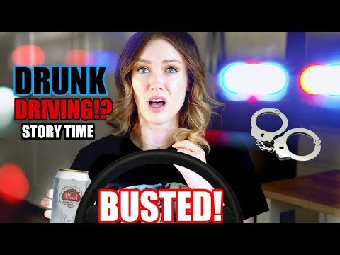 I GOT A DUI?! Drunk Driving STORY TIME & What I Learned. (not clickbait)