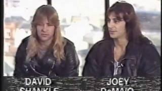 Manowar interview 1989