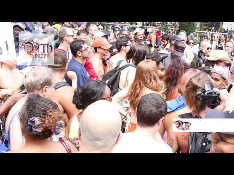 New York City Go Topless Pride Day Parade