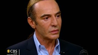Galliano on racist, anti-Semitic remarks: I have no memory of them