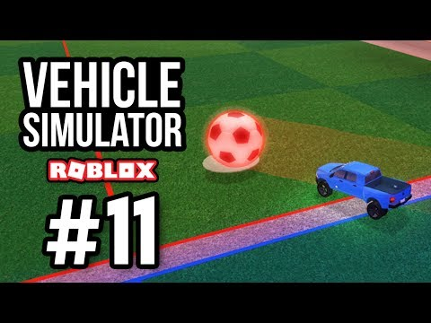 PLAYING SOCCER - Roblox Vehicle Simulator #11